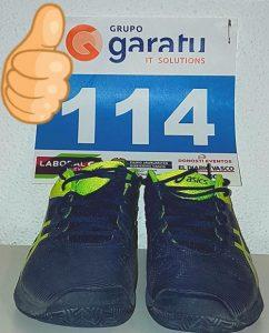 Agrupación deportiva Grupo Garatu botas