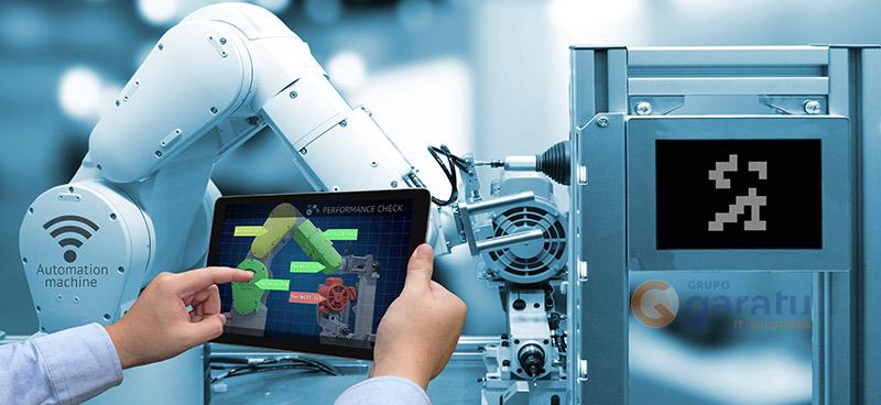 Robot en la industria 4.0 o la cuarta revolucion industrial