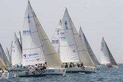 La Agrupación Deportiva Grupo Garatu en la Spi Ouest France 2017 en la Trinité-sur-Mer