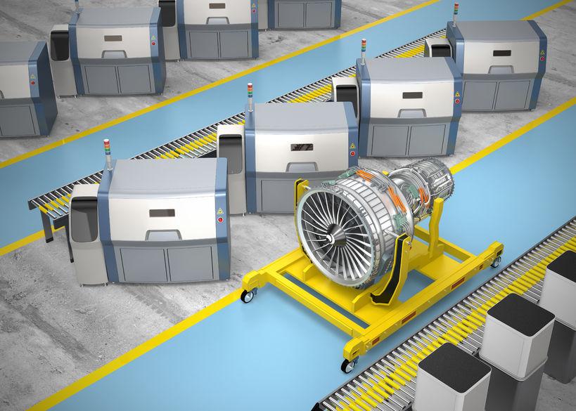 aeronautica-motor-turbina-cadena_-fabricacion-3D industria 4.0 grupo garatu