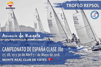 AD Garatu en el campeonato de España Clase J80 organizado por el Monte Real Club de Yates de Baiona