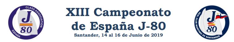 Campeonato de españa j80 en santander