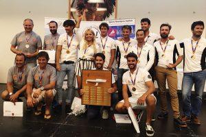 Foto de los primeros puestos en el campeonato del mundo j80 2018