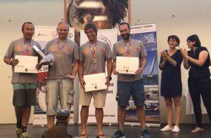 Subcampeon grupo garatu, Entrega de premios del mundial j80 Francia