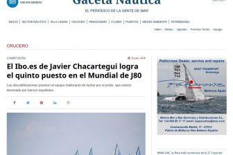 Gaceta Nautica – Crucero – El podio, que estuvo dominado por barcos españoles