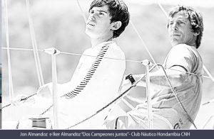 Iker y Jon Almandoz, dos campeones navegando juntos