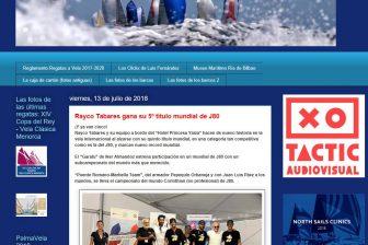 """lamarsalada.info – El """"Garatu"""" de Iker Almandoz estrena participación en un mundial de J80 con un subcampeonato del mundo más que merecido"""