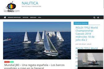 Latelenautica.com sigue el mundial de vela J80 2018 – Mundial J80 – Una regata española – Los barcos españoles a copo en la General
