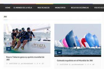 Desde Thornado velas & Vientos hablan de la Goleada española en el Mundial J80