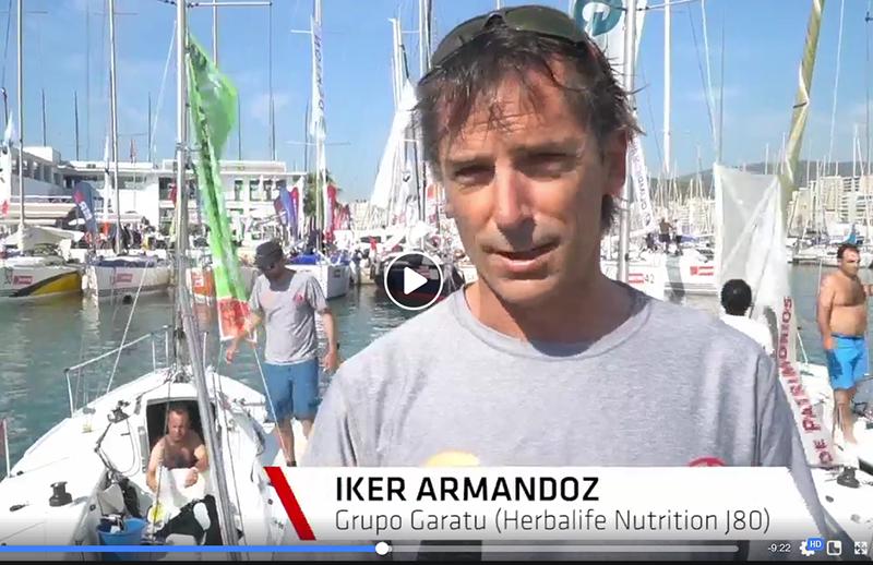 Iker Almandoz nos cuenta su apreciación en la37 regata de la copa del rey en Palma