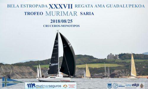 AD Grupo Garatu en la regata de vela J80 Ama Guadalupekoa trofeo Murimar