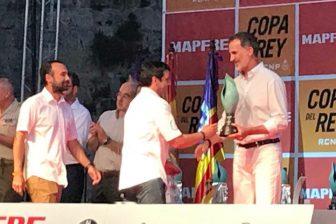 Entrega de premios en la 37 Copa del Rey de Mapfre