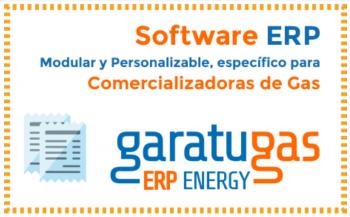 ERP para la gestión integral del gas,software especifico para las comercializadoras de gas