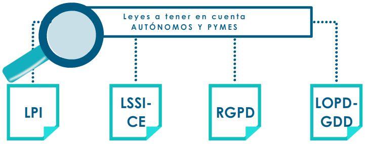 Leyes de ciberseguridad para los profesionales autonomos y las pymes
