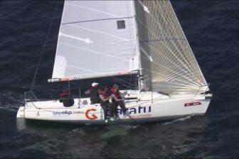 AD Garatu en el campeonato de España Clase J80 organizado por el Real Club Marítimo de Santander